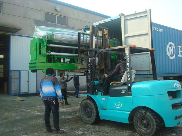 The machine export packing